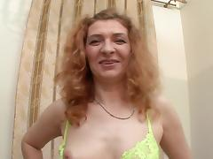 Slutty granny takes a dirty cumshot to her face after getting fucked tube porn video