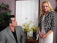 High-powered attorney-at-law Lexi Belle tube porn video