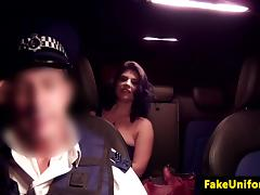 Cumswallowing british detainee fucked by cop