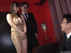 Boss, Asian, BBW, Big Tits, Boss, Chubby