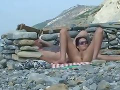 Beach, Beach, Flashing, Nudist, Voyeur