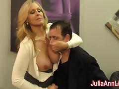 Julia Ann Milks Stepson before his Date! porn tube video