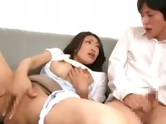 OKSN-114 - Reiko Kobayakawa Seduces & Fucks Her Son porn tube video