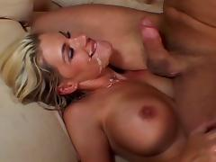 Jordan Haze ends up with a cock in her mouth and pussy