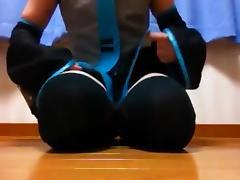 Teen crossdresser jacking off tube porn video