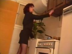 Vintage French Solo porn tube video
