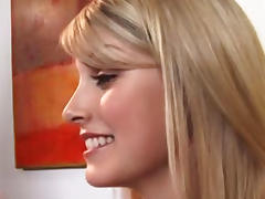 Flirty babe Lacie Heart gets her holes pounded porn tube video
