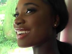 Black, Amateur, Black, Car, Cute, Ebony