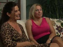 Ex-Girlfriend, Ass Licking, Big Tits, Blonde, Brunette, Fingering
