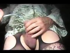 shemale sounding tige urethral in nylon x