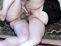 OldNanny Chubby Granny is very horny great threesome tube porn video