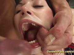 extreme deep anal fisting lesson porn tube video