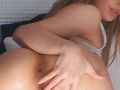 Horny Webcam Babe Strip and Fingering on Cam