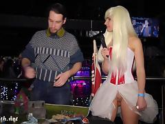 Jeny Smith at cosplay event porn tube video
