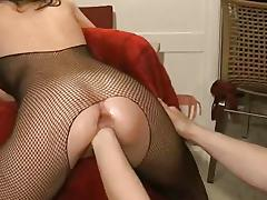 Nasty babe gets her pussy fisted tube porn video