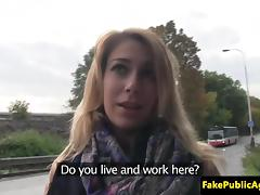 Pickedup eurobabe fucked on backseat of car tube porn video