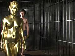 Golden adventure with two attractive Japanese beauties