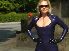 Black, Black, Blonde, Ebony, German, Latex