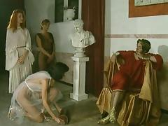 Orgy in Roman style porn tube video