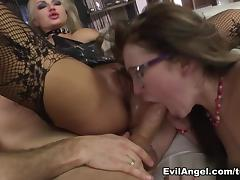 Kayla Green & Misha Cross & Rocco Siffredi in Rocco's Perfect Slaves #06 Video