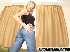 Smooth blonde handles a very thick cock inside her anal depths tube porn video