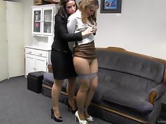 Bondage, Bondage, Boss, Office, Secretary, Teen