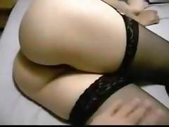 anal beading and anal fuck then i tie her to the bed and play with her clit tube porn video