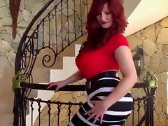 Chubby girl strips herself porn tube video