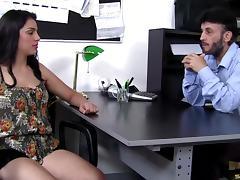 Boss, Big Tits, Blowjob, Boss, Close Up, Couple