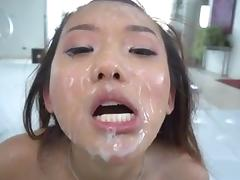 FACES OF CUM : Alina Li porn tube video