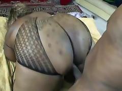 Curvaceous big tits, ass  ebony hardcore porn tube video