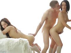 Boyfriend, Boyfriend, Erotic, Ffm, Friend, Hardcore