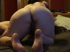 Wife sucks and rides cock