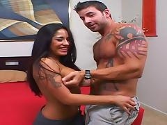 Latina, Couple, Fucking, Hardcore, Latina, Muscle