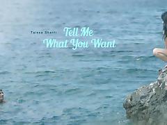 Taissia in Tell Me What You Want - ElegantAnal