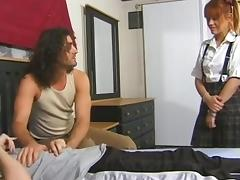 SB3 Babysitter Gets Double Fucked !