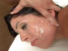 Rough, Couple, Cumshot, Facial, Hardcore, Latina
