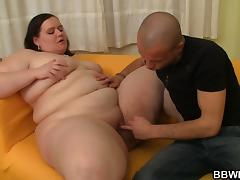 Fat ass plumper is picked up and doggystyled porn tube video