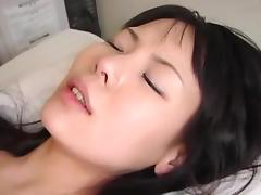 Asian milf creampie
