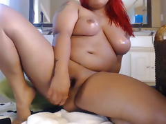 Latina BBW Squirting