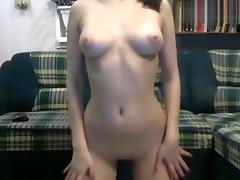 Sweet-Alice: naked babe caresses herself