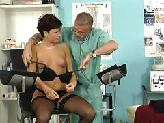 Doctor, Doctor, Piercing, Sex, Small Tits, Stockings