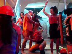 Crazy fucking at a night club with these dirty Euro girls porn tube video