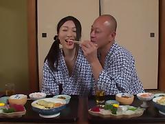 Satomi Akari moans in pleasure while getting shagged hard and good porn tube video