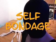Selfbondage in a Maxcita SJ porn tube video