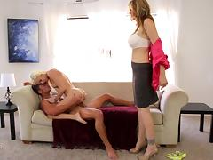 Stepmom is watching... and fucking tube porn video