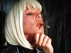 Smoking a More 120 porn tube video
