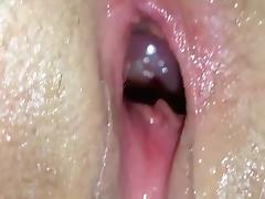 Massive dildo pussy spasms