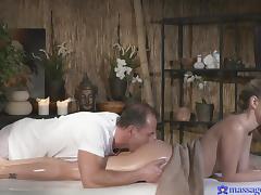 naughty angel gets a kinky massage