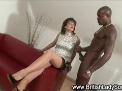 Femdom fetish slut Lady Sonia gets ready for interracial fucking porn tube video